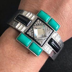 """Lia Sophia """"Nouvelle"""" cuff bracelet, new!"""